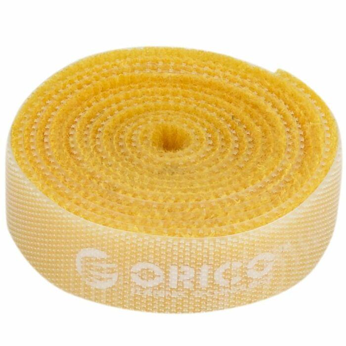 Orico velcro cable ties 1m - Yellow