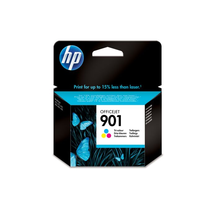 HP 901 Tri-Colour Inkjet Print Cartridge Blister Pack