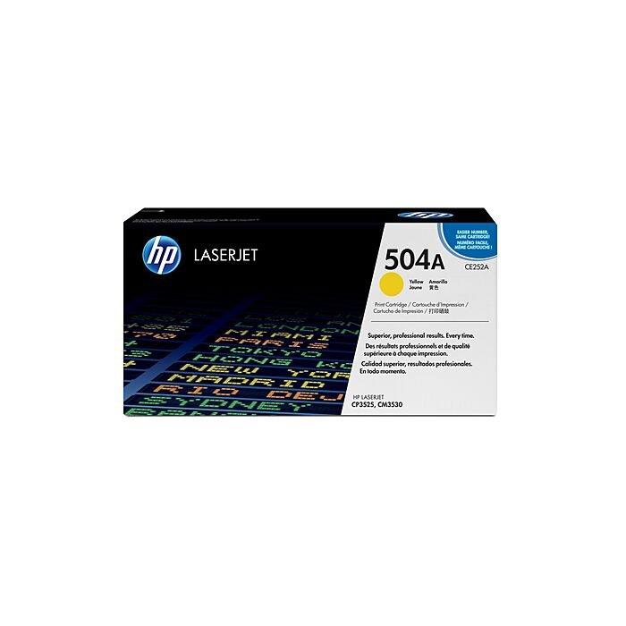 HP 504A Cp3525/Cm3530 Mfp Yellow Print Cartridge