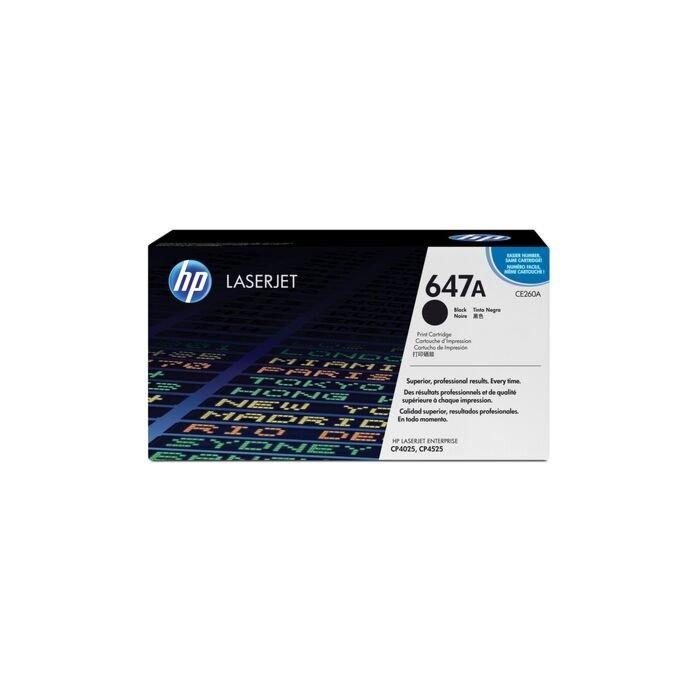 HP 647A CLJ Cp4525/Cp4025 Black Print Cartridge