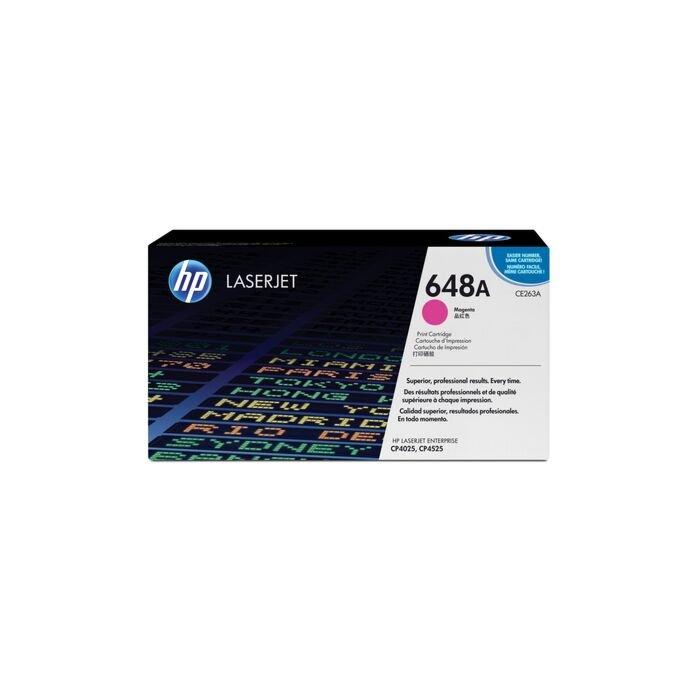 HP 648A CLJ Cp4525/Cp4025 Magenta Print Cartridge