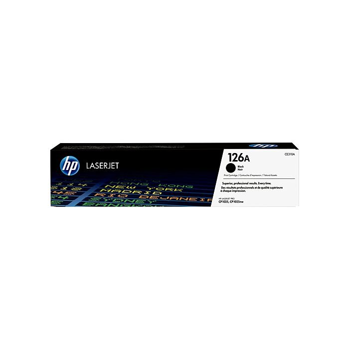 HP 126A CLJ Cp1025 Black Print Cartridge