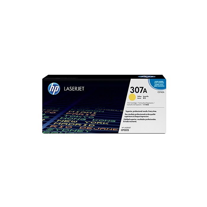 HP 307A Color Laserjet Cp5225 Yellow Print Cartridge