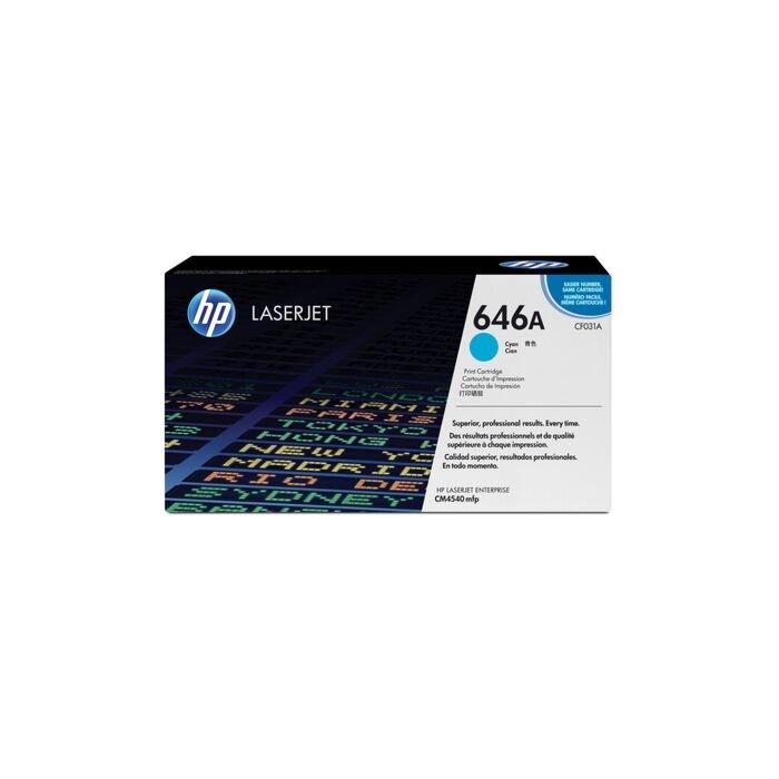 HP 646A Colour Laserjet Cm4540 Cyan Print Cartridge