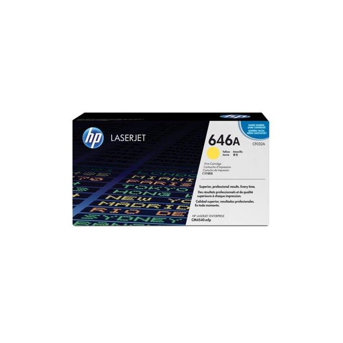 HP 646A Colour Laserjet Cm4540 Yellow Print Cartridge