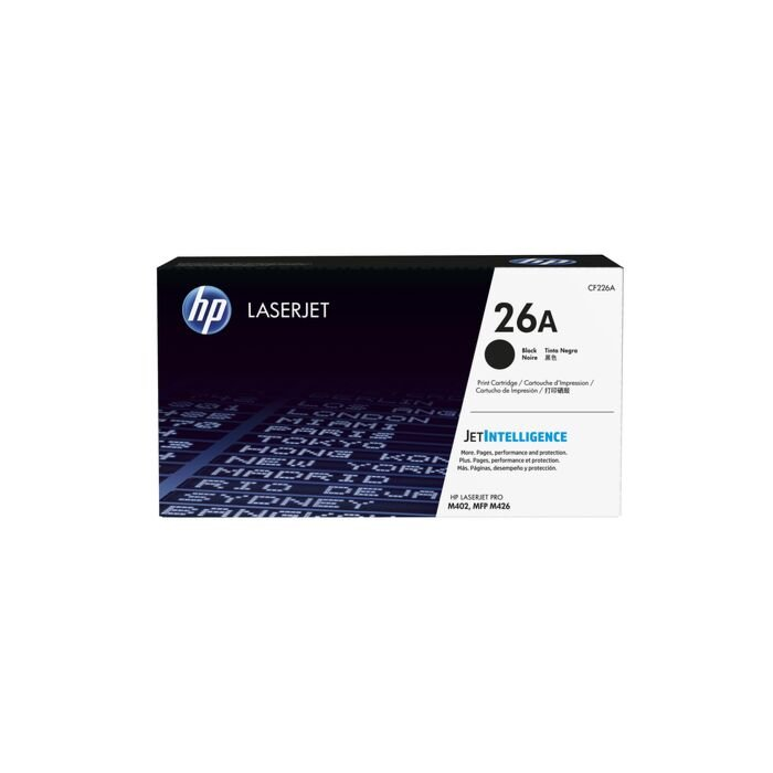 HP 26A Black Laserjet M402/Mfp M426 Cartridge