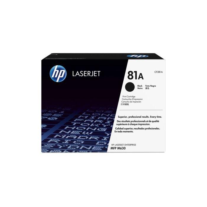 HP 81A Laserjet M630/604/605 Black Print Cartridge