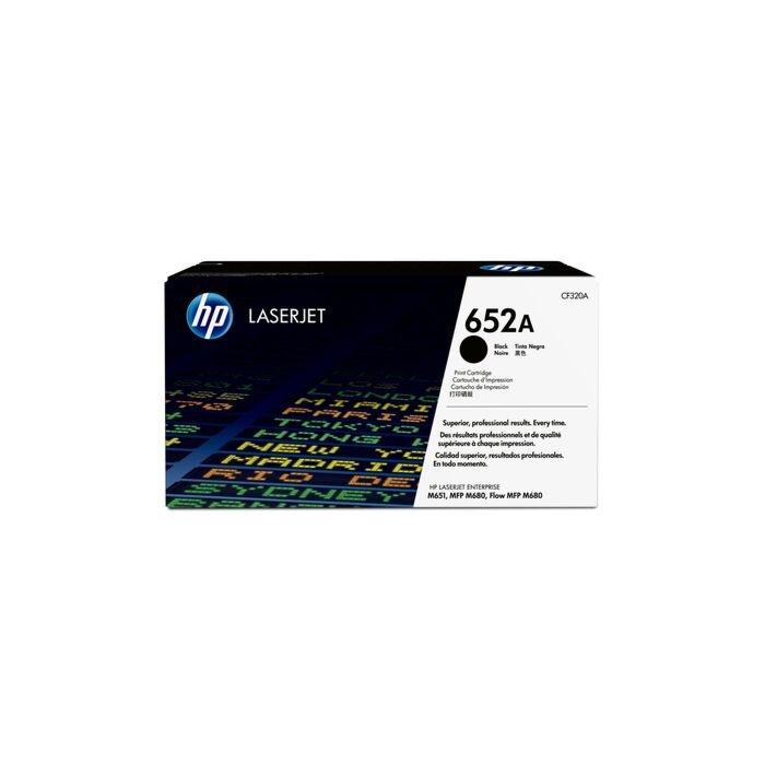 HP 652A CLJ M651/M680 Black Print Cartridge