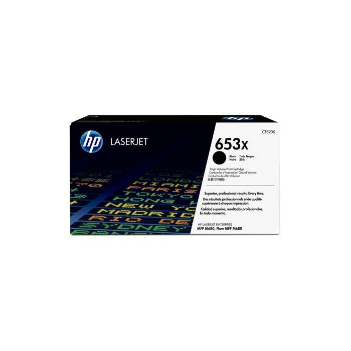 HP 653X CLJ M680 High Yield Black Print Cartridge