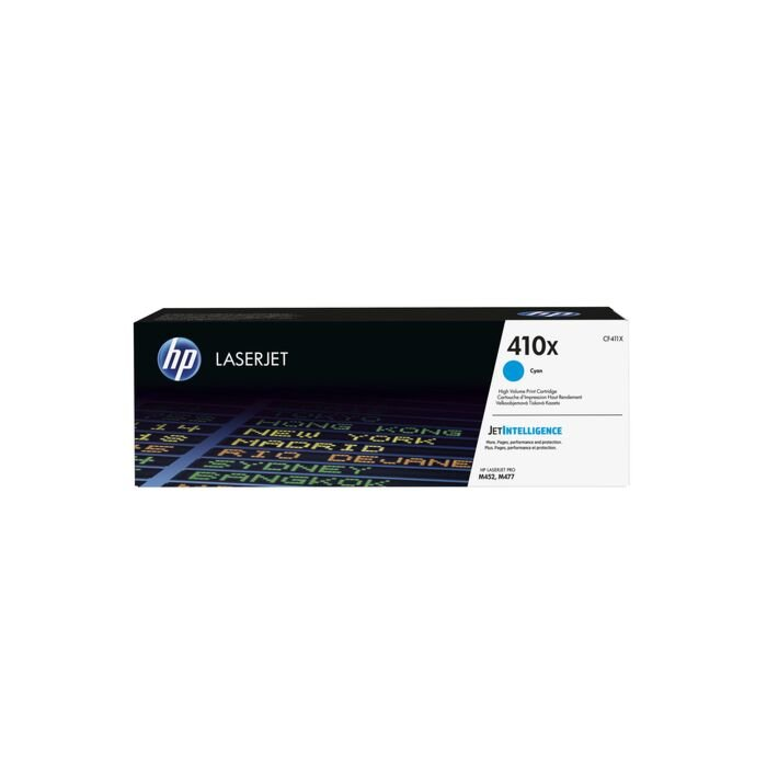HP 410X Cyan Laserjet M452/Mfp M477 Cartridge