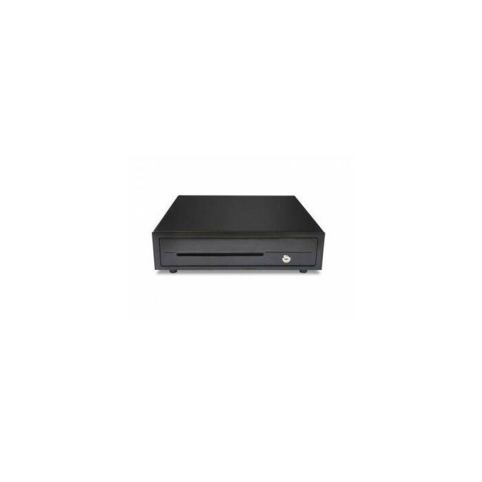Maken CK-410 Economical Cash Drawer Black with RJ11 Printer Kick
