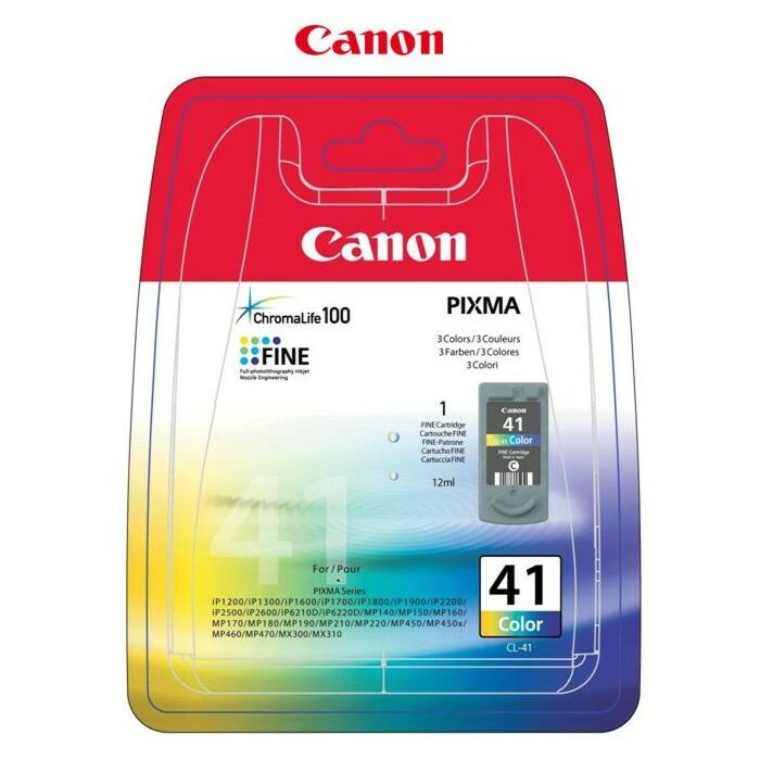 Canon - Ink Colour - Ip1200 / Ip1300 / Ip1600 / Ip1700 / Ip2200 / Ip6210D / Ip6220D / Mp150 / Ip1900