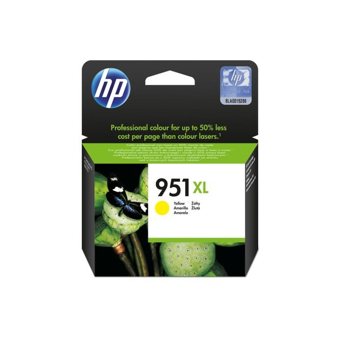 HP 951XL Yellow Officejet Ink Cartridge Blister Pack