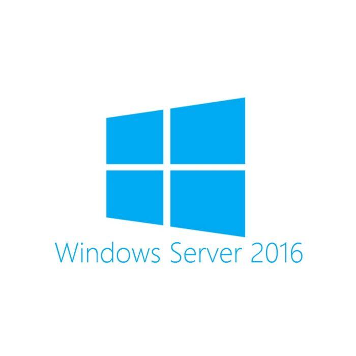 Microsoft - Windows Server 2016 Standard 16 Core (DVD)
