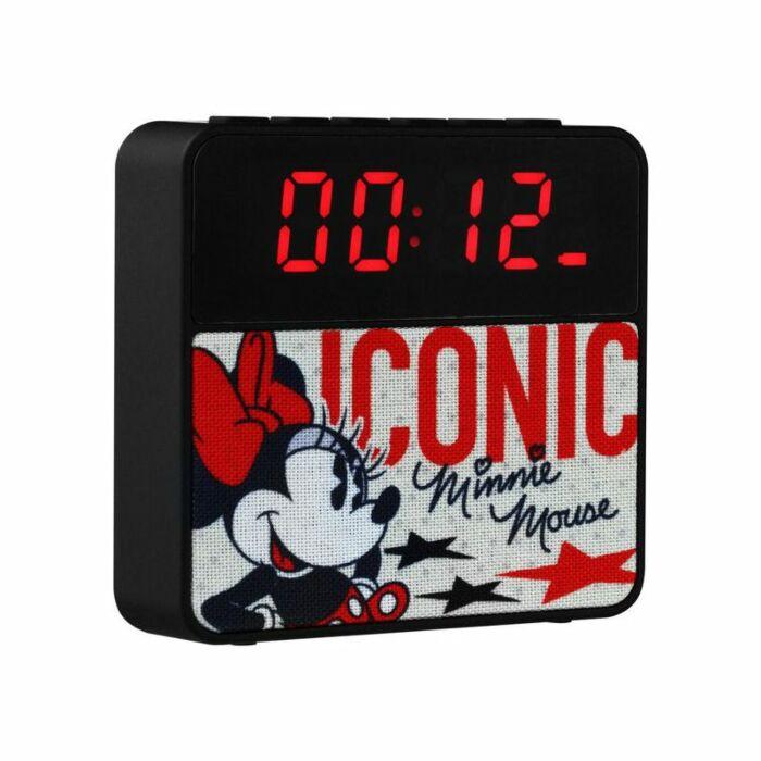 Disney Alarm Clock Radio Bluetooth Speaker Retro Mini Mouse
