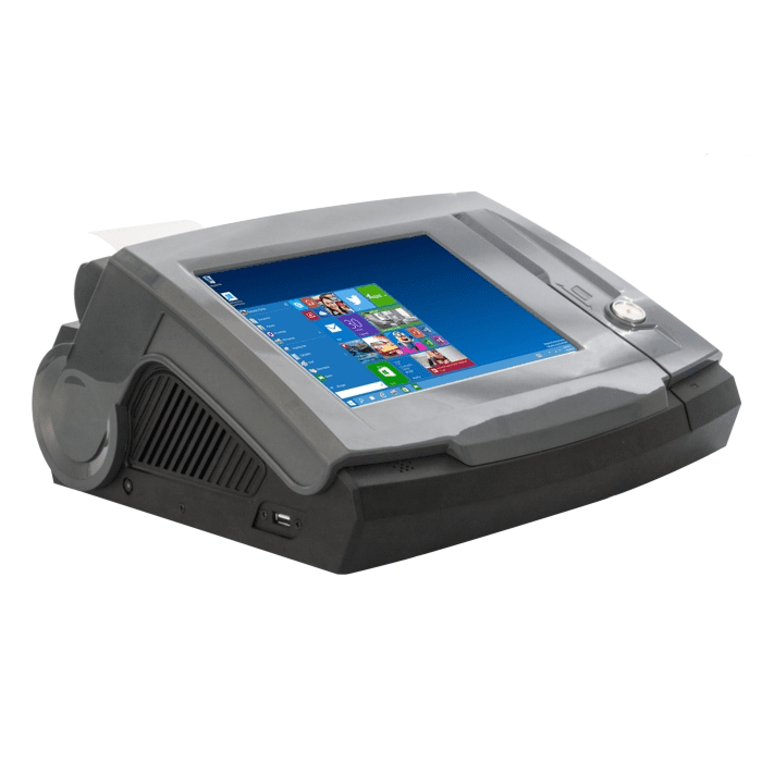 Dynamic POS 10 Poslab Dynamic POS 10 inch Resistive Touch Workstation with Android