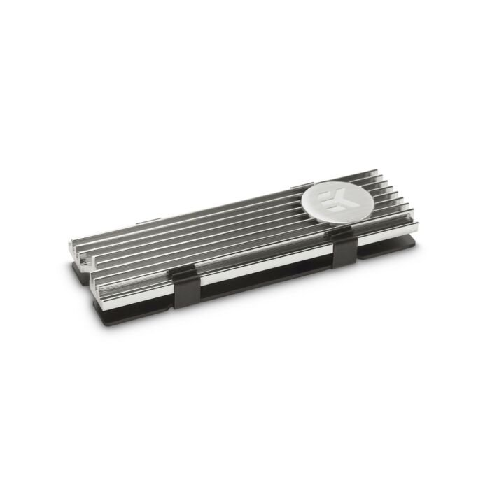 EKWB M.2 NVME MEMORY COOLING MODULES WITH NICKEL DESIGN UNIVERSAL PASSIVE COOLER FOR NVME MODULES (3830046991799)