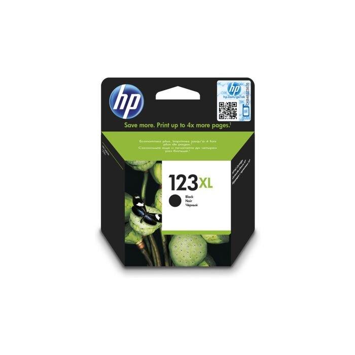 HP 123XL High Yield Black Original Ink Cartridge Deskjet 2130/2131