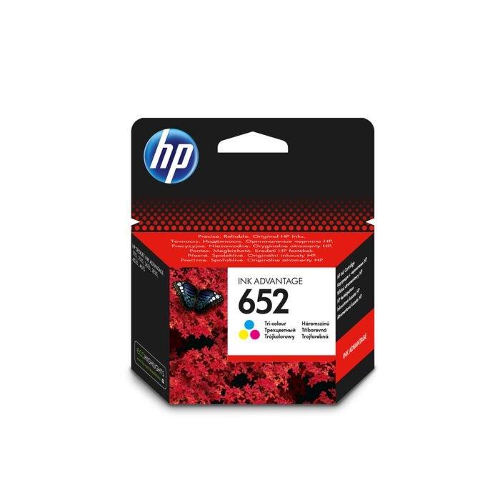 HP 652 Tri Colour Ink Cartridge - Ia 3835 Blister Pack