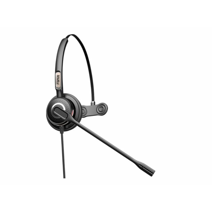 Fanvil RJ9 Monaural On-Ear headset with Mic | HT201