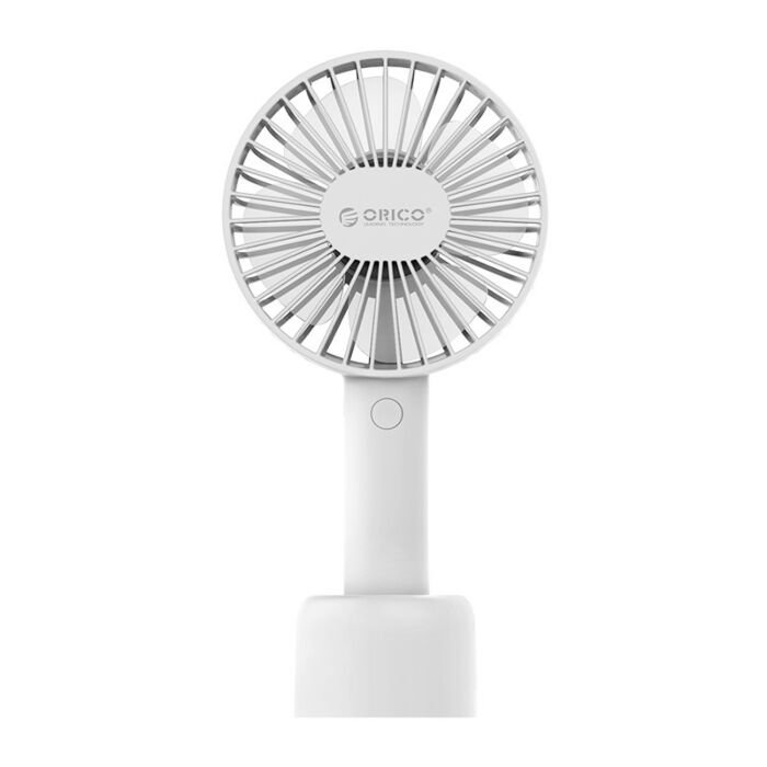 Orico Mini Rechargeable USB Desktop Fan - White
