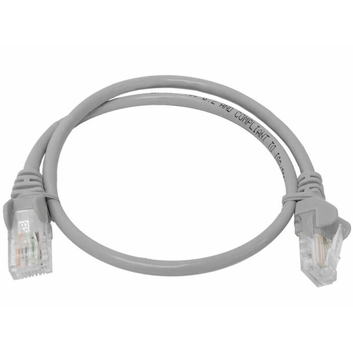 Linkbasic 0.5 Meter UTP Cat5e Patch Cable Grey