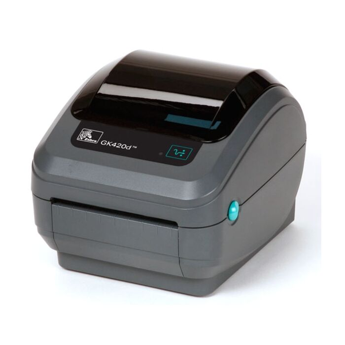 Zebra GK-420D Direct Thermal Label Printer with USB & Ethernet Interfaces