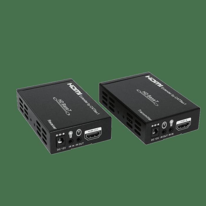 HDCVT HDMI HDBaseT 4k 100m Extender with IR POE