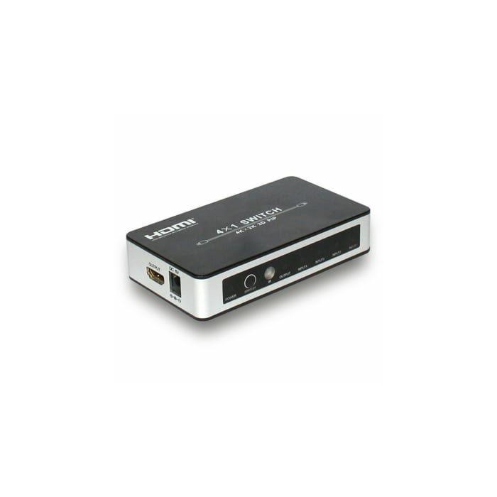HDCVT 4x1 HDMI 4k Switch with PIP