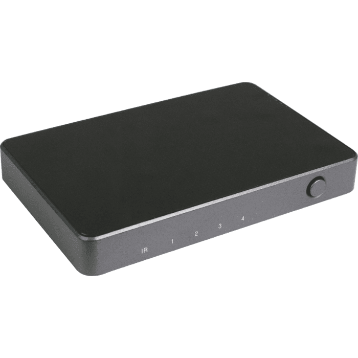 HDCVT 4x1 HDMI 2.0 Switch with Audio
