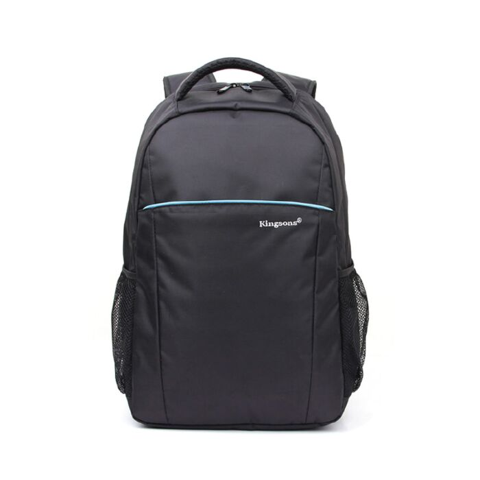 Kingsons 16 inch laptop backpack - Blue stripe