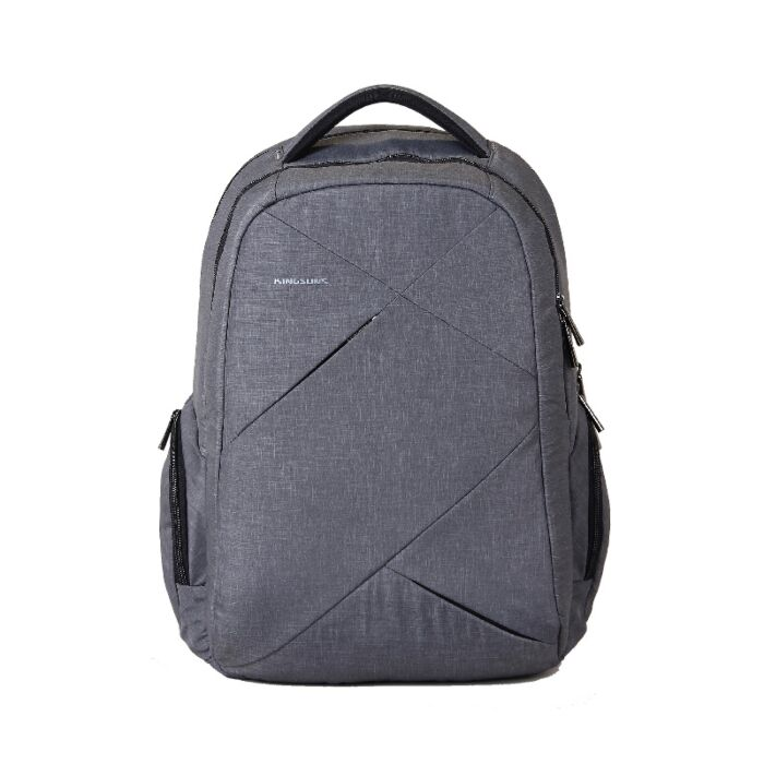 Kingsons 15.6 inch Sliced Series Backpack Grey