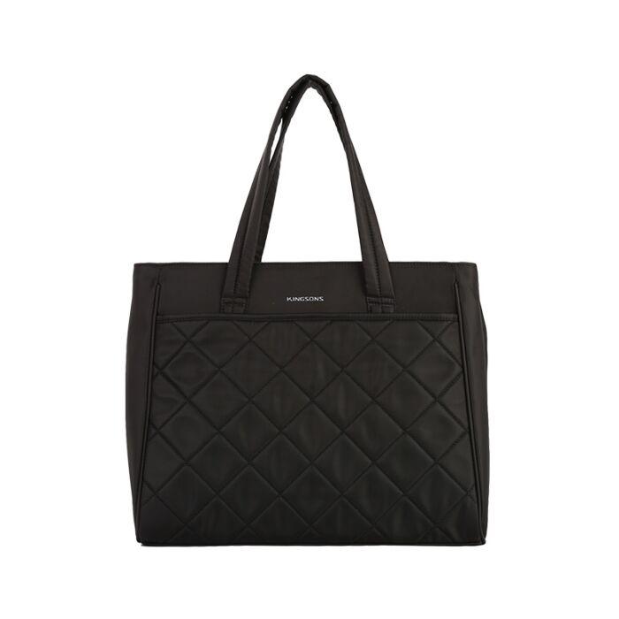 Kingsons 15.6 inch Elegant series Ladies bag Black