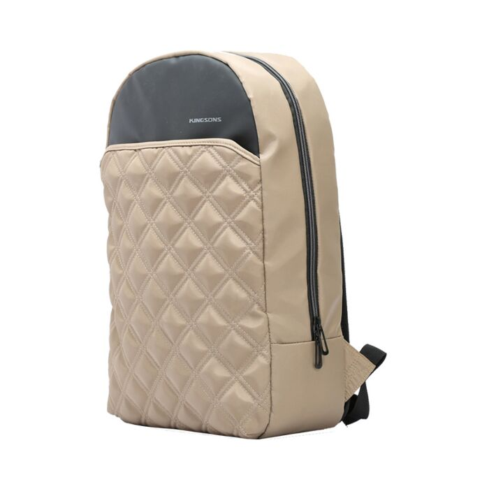 Kingsons 15.6 inch Clutch Series Backpack Coffee