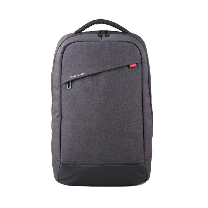 Kingsons 15.6 inch Trendy Series Backpack Grey