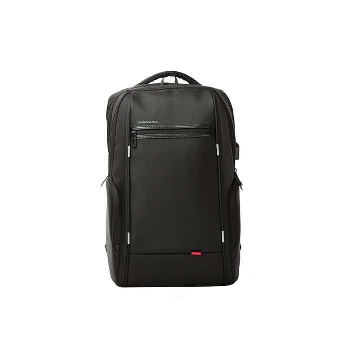 Kingsons 15.6 inch Smart Series Backpack Black - With USB power cable