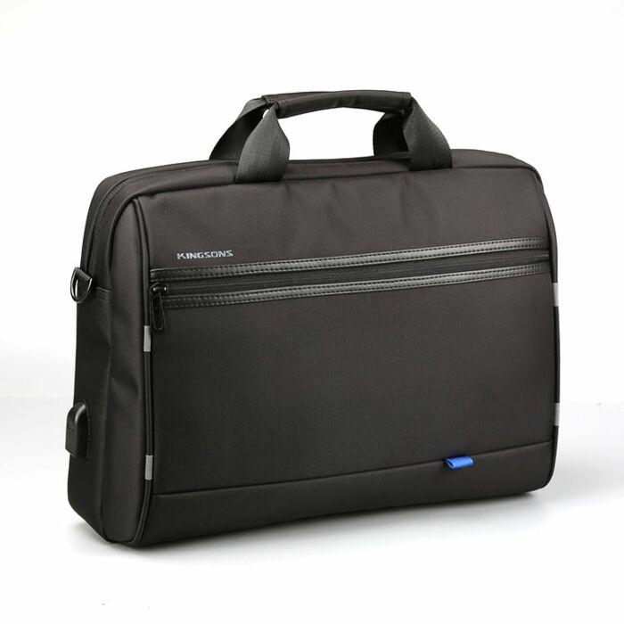 Kingsons 15.6 inch shoulder bag - Global series Black