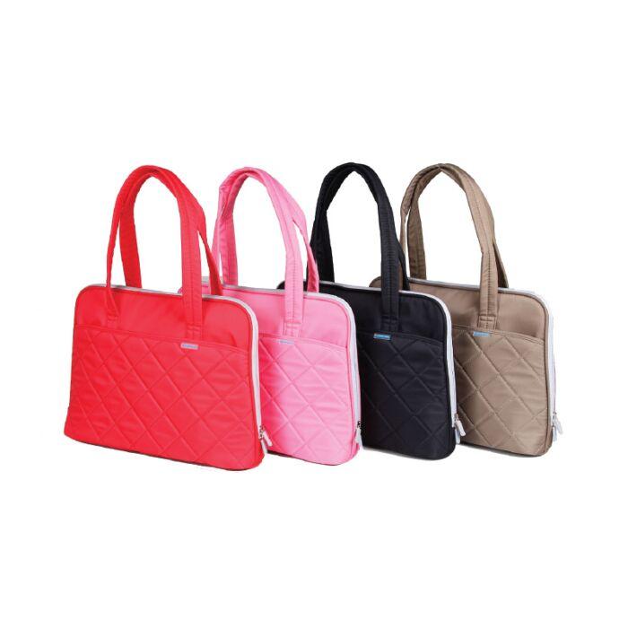 Kingsons 14.1 inch pink shoulder laptop bag - Ladies in fashion