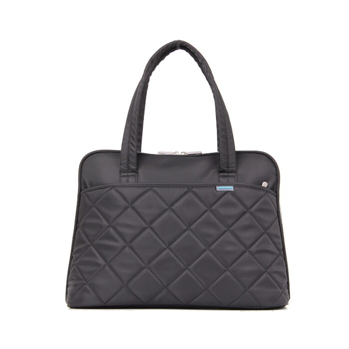 Kingsons 15.4 inch shoulder laptop bag - Ladies in fashion - Black