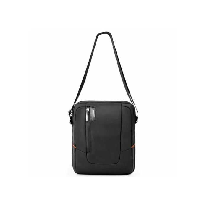 Kingsons 9.7 inch Black Shoulder Laptop Bag Elite Orange Series