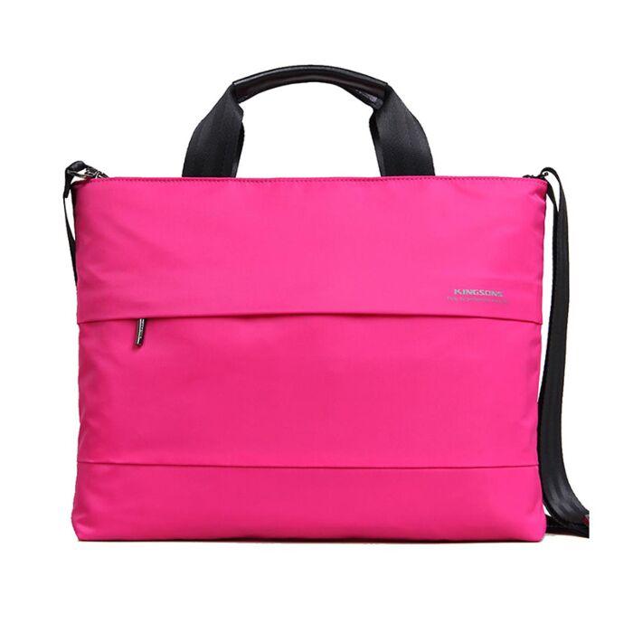 Kingsons Ladies Bag - Charlotte Series - Pink 15.4 inch