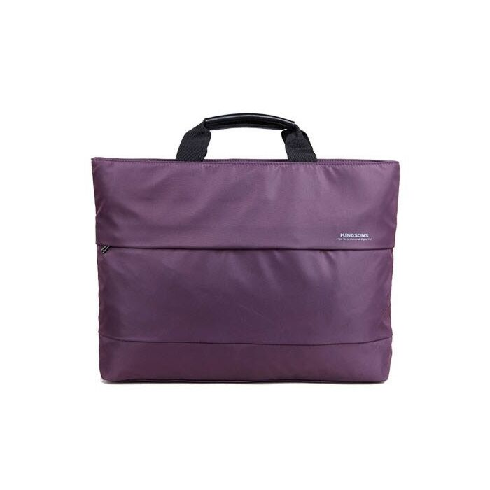 Kingsons 15.4 inch Ladies Bag Charlotte Series Purple