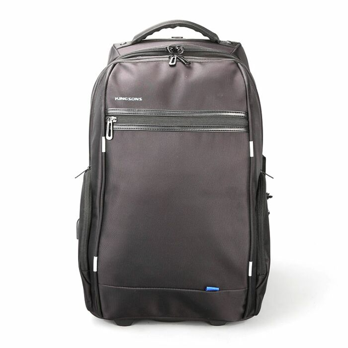 Kingsons 15.6 inch Smart Series with USB Port Trolley backpack