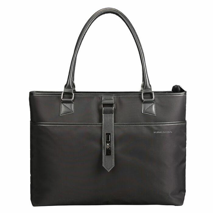 Kingsons 15.6 inch Ladies Bag Bella Series Black