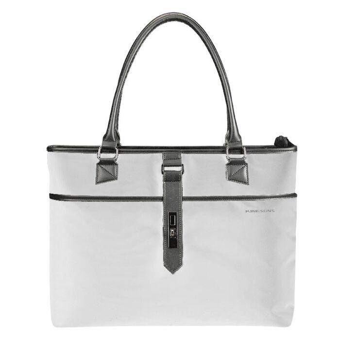 Kingsons 15.6 inch Ladies Bag Bella Series - Grey