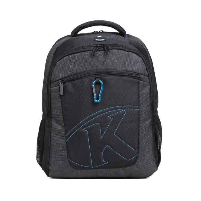 Kingsons 15.4 inch Laptop Backpack with Key Chain - Black