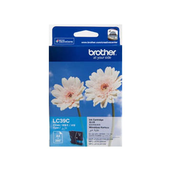 Brother Cyan Ink Cartridge - Mfc-J220 / Mfc-J265W / Dcpj140W - 260 Pgs