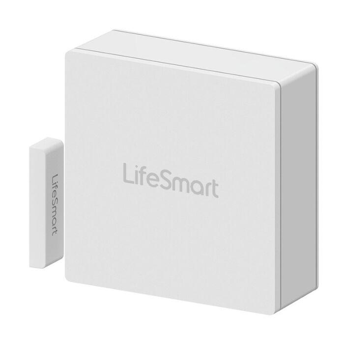 Lifesmart Cube Door/Window Contact|Impact Sensor - CR2450 Battery - White