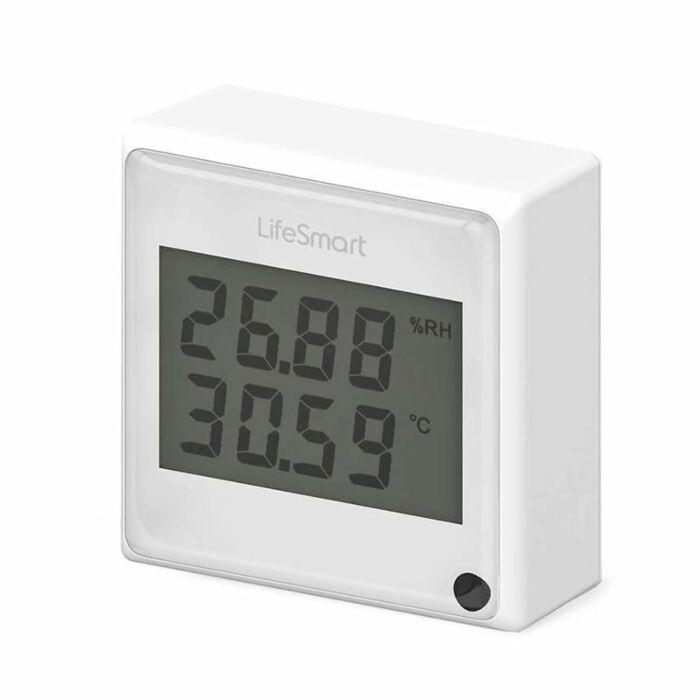 Lifesmart Cube Environmental Sensor Illumination|Humidity (5 to 90%)|Temperature (-20 to 40 Degrees) - CR2450 Battery - White