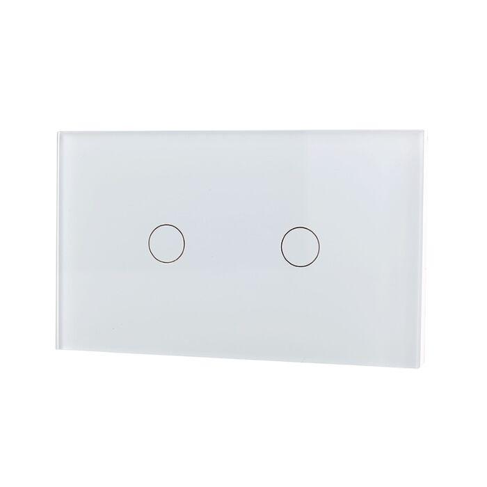 Lifesmart Smart Light Switch 2 lane - Socket 118/120 - White